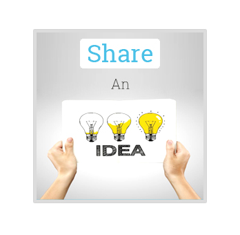 SHARE AN IDEA